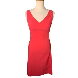 French Connection Pink Sheath Dress